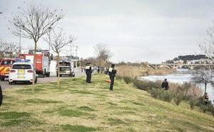 La UME de León encuentra un cadáver en el río Guadiana a su paso por Badajoz