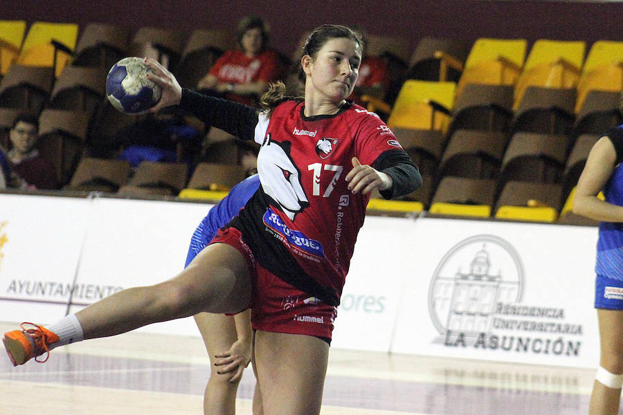 Victoria del Rodríguez Cleba ante Siero (27-20)