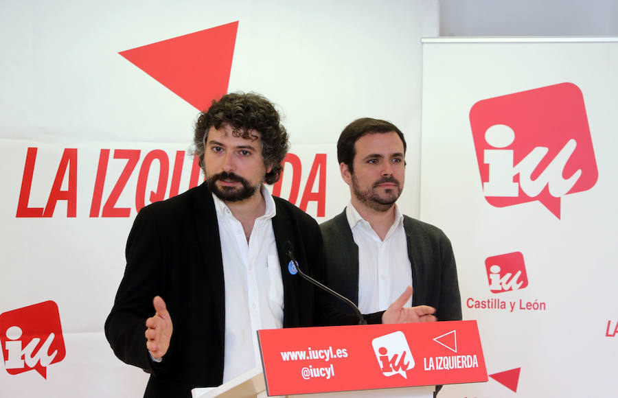 Alberto Garzón en Valladolid