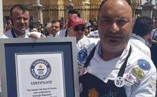 Fallece el cortador de jamón Nico Jiménez, el vecino de récord de Boñar