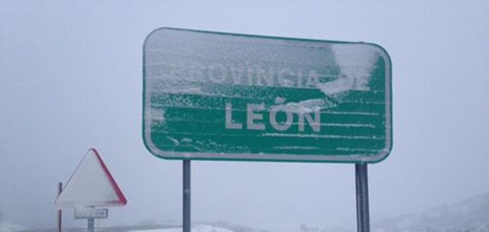 Los termómetros vuelven a desplomarse... y la nieve regresa el lunes a León