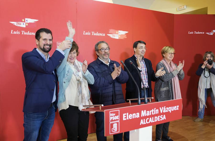 Acto de presentación de la candidata del PSOE a la Alcaldía de Béjar