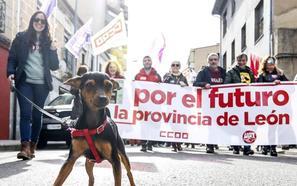 León rompe con la resignación y lanza un SOS para exigir un plan extraordinario y urgente de reindustrialización de la montaña central