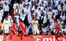 El Girona devuelve a la Tierra al Real Madrid