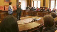 León acoge con los brazos abiertos a estudiantes de Finlandia, Italia y Rumanía