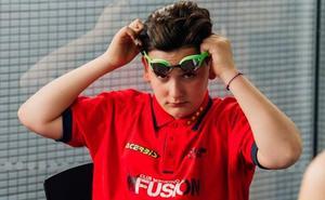 David Cubillas, campeón autonómico de natación adaptada