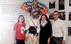 El Centro Interpretativo de la Máscara Ibérica de Lazarim expone durante el 2019 un guirrio de Llamas de la Ribera