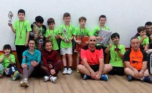 El Club Squash León celebra San Valentín en el Hispánico