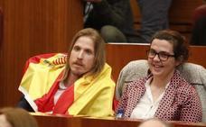 Y Podemos sacó la bandera de España