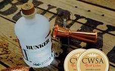 La ginebra leonesa Bunker ha sido galardonada con la Doble Medalla de Oro en el Certámen Internacional China Wine and Spirits Awards