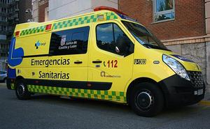 Un hombre de 37 años resulta herido tras salirse de la vía con su vehículo en Santa María del Páramo