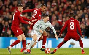Liverpool y Bayern dejan los deberes para la vuelta