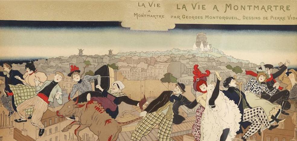 La alegre movida de Montmartre
