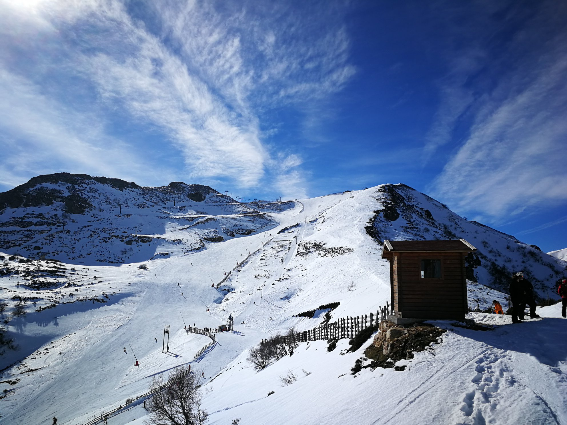 Continúa el buen momento de la nieve asturiana