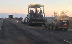 Comienzan las obras de reparación de la N-630 con una inversión prevista de dos millones de euros