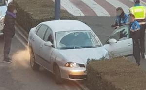 Un joven herido tras ser arrollado por un vehículo en la calle Azorín de San Andrés del Rabanedo