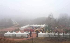 Últimos preparativos para la 99 Feria de Febrero de Valencia de Don Juan