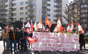 Los 10 trabajadores de seguridad privada de Villahierro piden «una salida digna» a la sustitución por Guardias Civiles