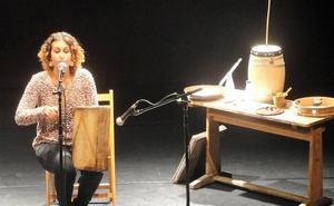 Vanesa Muela lleva su música folk al escenario de El Albéitar