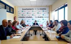 La Junta de Portavoces de San Andrés ultima los detalles de los 2,37 millones de inversiones
