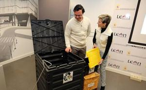 Los centros docentes de León han reciclado 282.000 kilos de residuos orgánicos desde 2017