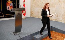 La dimisión de Silvia Clemente, en imágenes