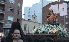 La Piedad de Minerva 'se cae' de la Procesión de la Pasión en Lunes Santo