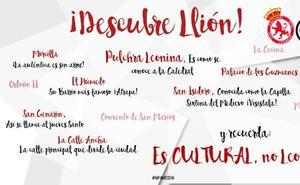 El cartel del Unión Adarve que invita a «descubrir Llión»