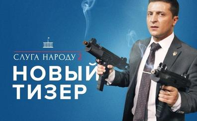 De la televisión a presidente de Ucrania