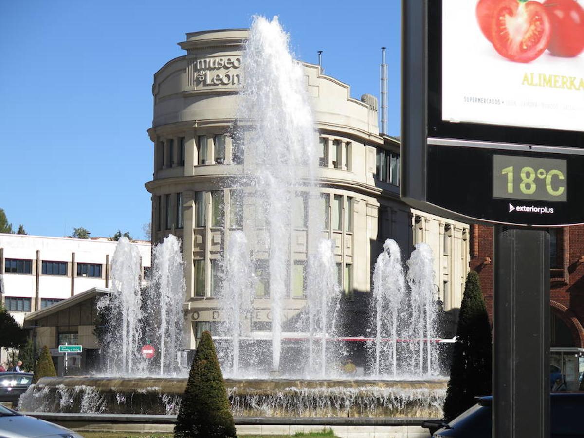 El buen tiempo reina en León