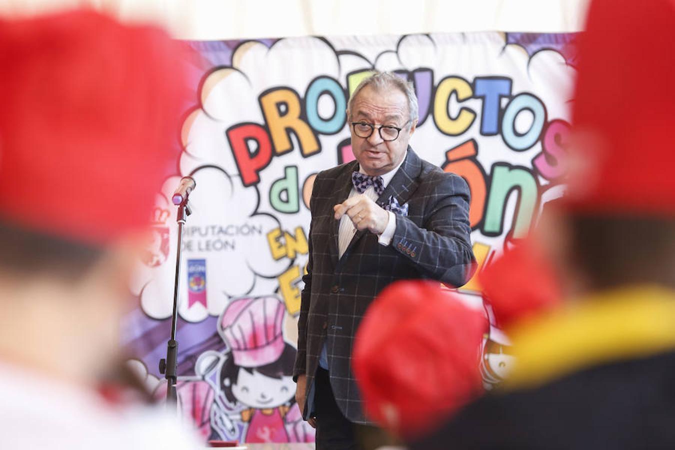 Presentación de la Campaña 'Productos de León en la Escuela'