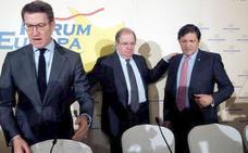 Javier Fernández reivindica el Corredor Atlántico para reequilibrar el país