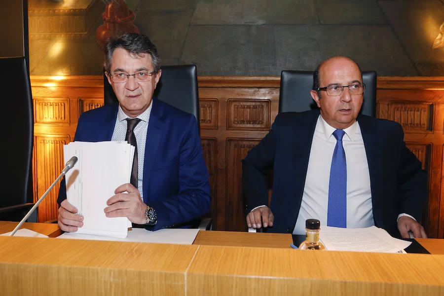 Pleno ordinario de la Diputación de León