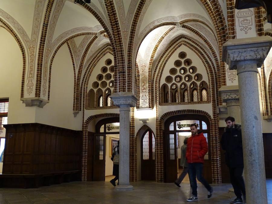 Musealización de la primera planta del Palacio Episcopal de Gaudí