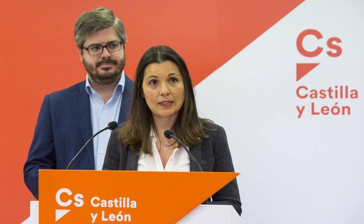 Presentación de Soraya Mayo como candidata de Ciudadanos al Congreso por Valladolid