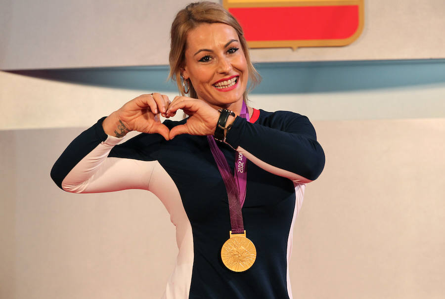 Lydia Valentín asegura que 'rezará' para ser abanderada olímpica