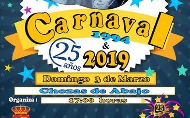 Chozas de Abajo conmemora el 25 aniversario de los carnavales