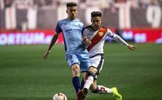 Stuani impulsa al Girona y deja herido al Rayo