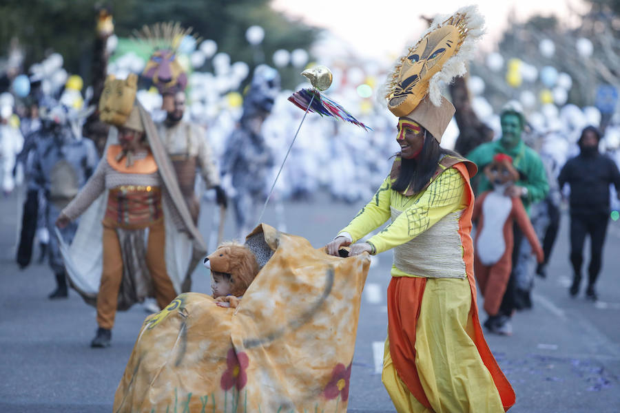 León se empapa de Carnaval