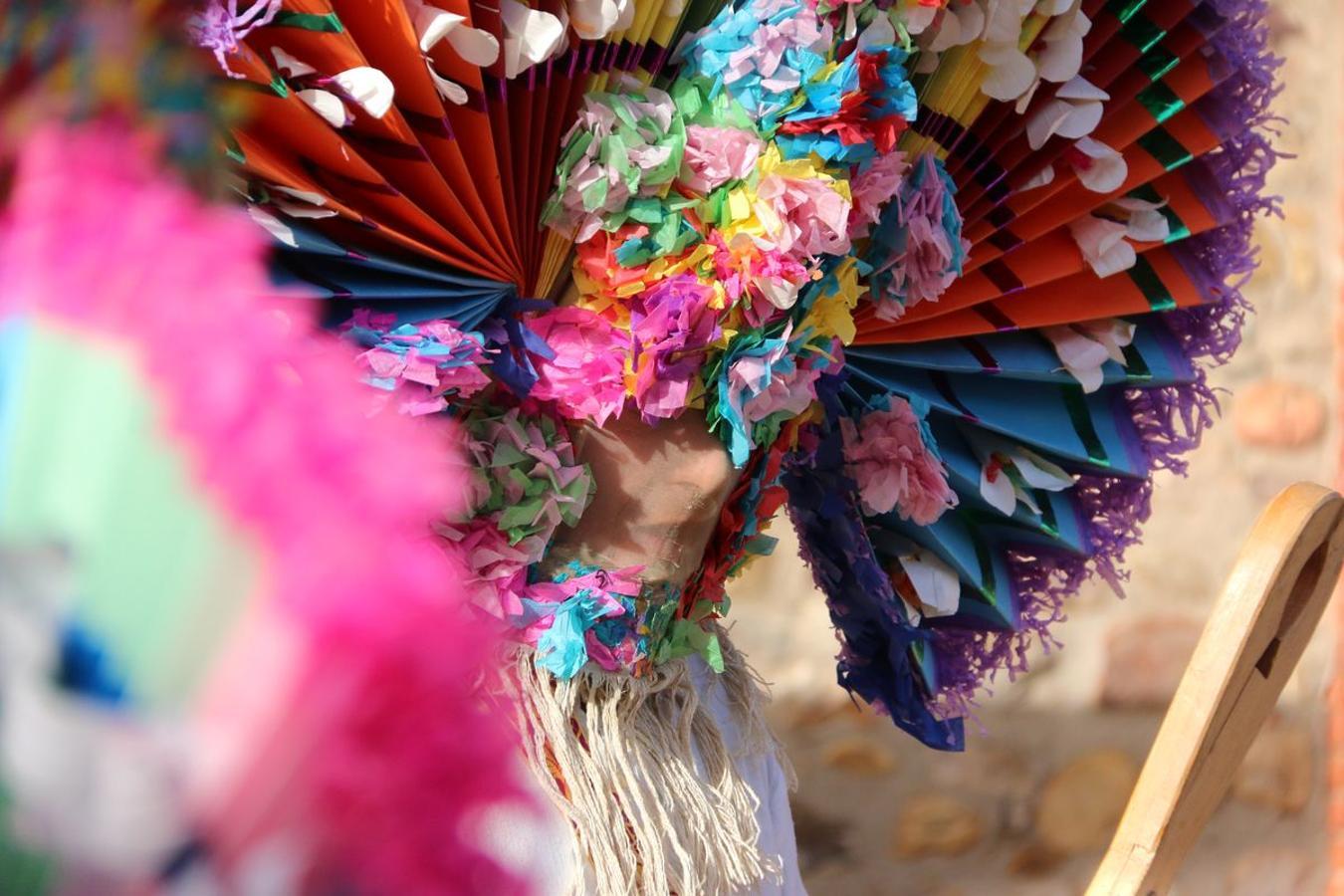 Llamas de la Ribera vive su antruejo