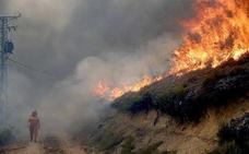 La UME del Ferral envía 50 efectivos para combatir los 60 incendios activos en Asturias
