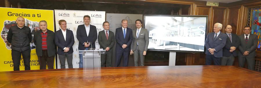 Presentación del proyecto de modernización de la Estación de Autobuses de León