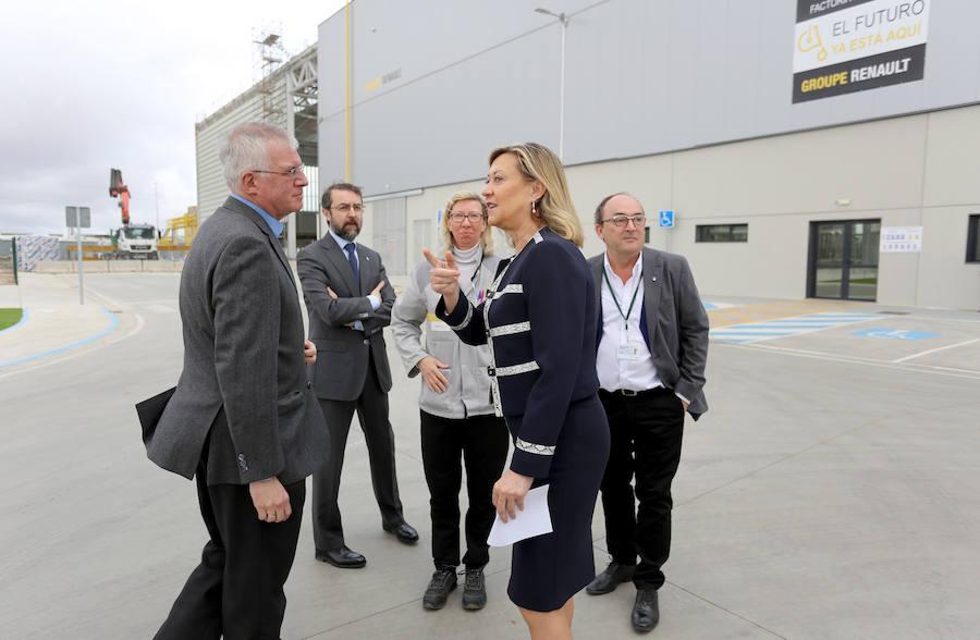 El Parque de Proveedores de Renault en Valladolid contará con dos naves operativas para empresas antes de 18 meses