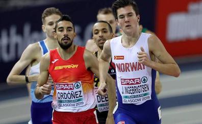 La temporada de Saúl Ordóñez apunta al 1.500 metros