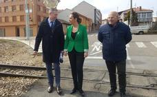 Villaquilambre deshace su brecha histórica del tren con la supresión de cuatro pasos a nivel con 2,4 millones