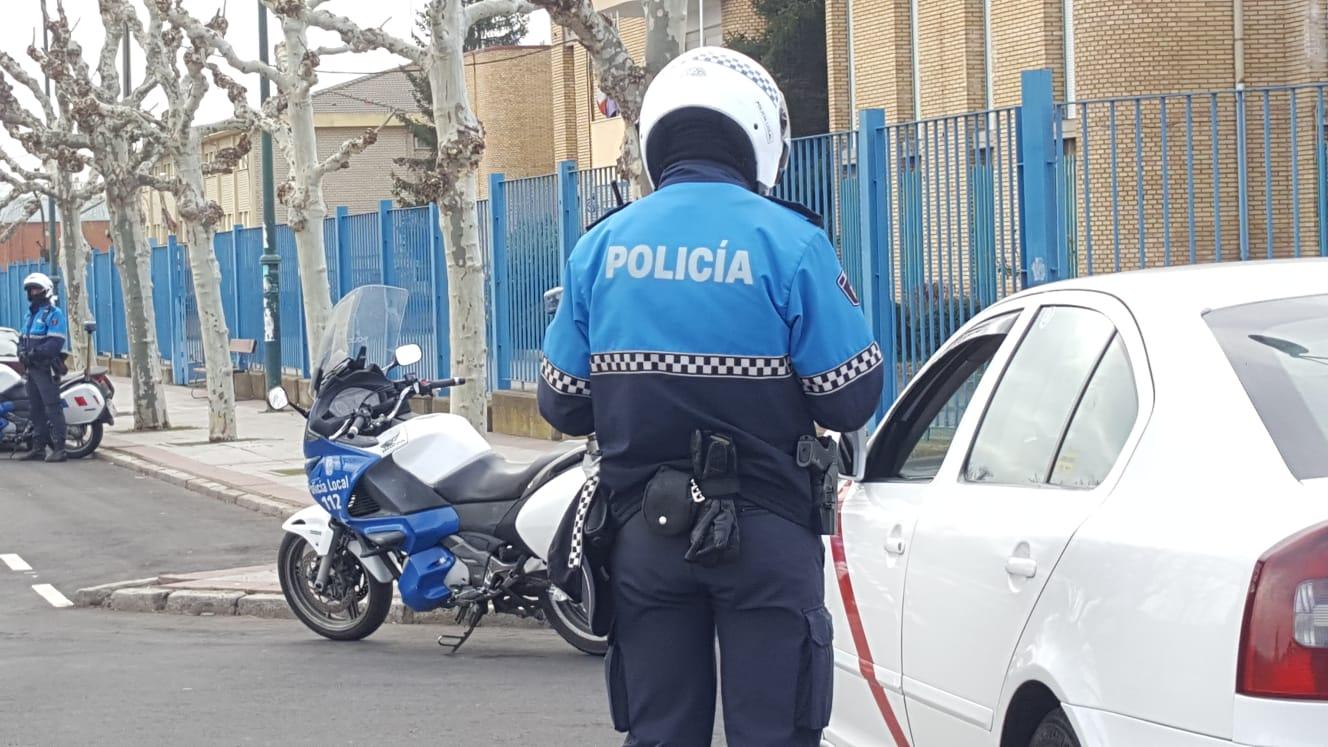 Campaña piloto de vigilancia de la Policía Local de León