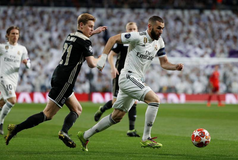 Las mejores imágenes del Real Madrid-Ajax