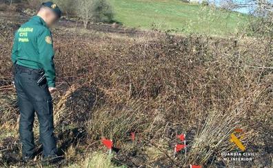La Guardia Civil investiga a un hombre como presunto autor de un incendio en Cantabria