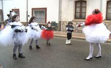 Pola se sube al Carnaval y desafía a la lluvia