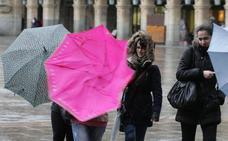 Aviso por vientos de hasta 80 kilómetros por hora el miércoles en Castilla y León